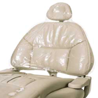 iSmile Half Chair Sleeves, Clear Plastic, 27 1/2