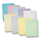"iSmile Lavender Patient Bibs plain rectangle (13"" x 18""), 2 Ply Paper/1 Ply"