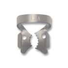 iSmile #13A winged stainless steel rubber dam clamp, matte finish, single clamp
