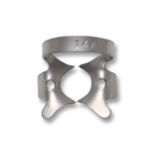 iSmile #14A winged stainless steel rubber dam clamp, matte finish, single clamp