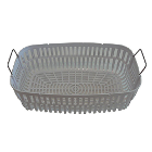 "iSonic P4821 plastic basket, will not rust, internal dimensions 5.6"" x 9.3"" x"