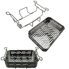 iSonic Stainless Steel Rack and Tray. Used in P4830, P4831, P4831(II)