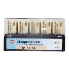 IPS Empress CAD LT Block, Shade B1 Size C14, 5/Pk. is a system of composite