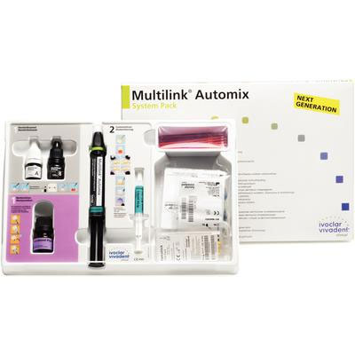 Multilink Automix Easy Clean Up Universal Resin Cement Transparent