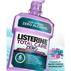 Listerine Total Care Zero Fresh Mint Mouthwash 1 Liter - 6/Cs. Low Intensity