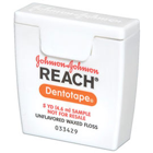 Reach Dentotape Unflavored Waxed Trial Size, 5 yards 144/Pk. Dental Floss
