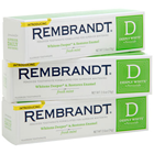 Rembrandt Deeply White Fresh Mint Perioxide Toothpaste for superior whitening