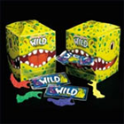 Wild Flossers flossing device for children, dinosaur-shape and bright colors