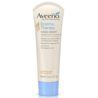 Aveeno Eczema Therapy Hand Cream, Fragrance Free, 2.6 oz tubes, Case of 12