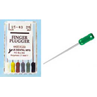 JS Finger Plugger #15-40 Assorted 25mm Finger Pluggers, Stainless Steel Hand