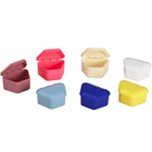 JSP Denture Boxes, Assorted, 2-1/4