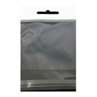 "JSP Clear Cellophane Bags 8"" x 10"" with White Header and Hang Hole 1000/Pk"