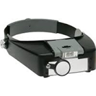 JSP Lighted visor with 3 lenses- 4 different magnifications ranging from 1.8X - 4.8X. Includes LED