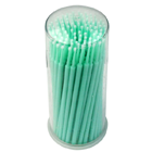 JSP Regular Tip Micro Applicator Brushes - 2.0 mm/Green. 4 x 100/Tube
