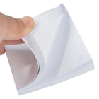 "JSP Mixing Pad, 3"" x 3"", 2/Pk. 100 Sheets each. Glossy paper, ideal for mixing"