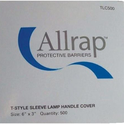 "Allrap Disposable Light Handle Sleeve 6"" x 3"" - C"