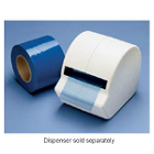 "Cover All 4"" x 6"" sheet of Blue Barrier Film with Adhesive Coating, roll"