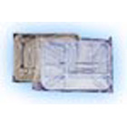 "Dental Disposables 10.50"" x 14"" Clear Plastic Tray Sleeves, Box of 500"
