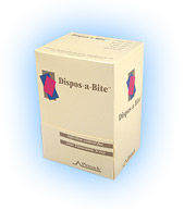 Dispos-a-Bite Pinnacle disposable bite blocks for