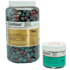 Contour Regular Set Single Spill (400 mg) dispersed phase alloy in a Brown/Blue