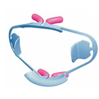 OptiView lip and cheek retractors, SMALL Kit, Light blue, Frames and cushions