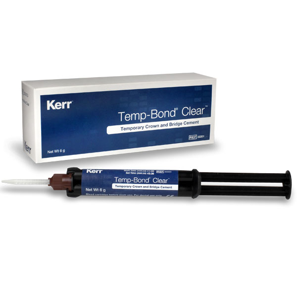 TempBond Clear with Triclosan Automix Syringe: 1