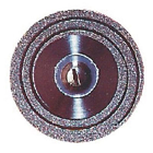 Keystone Multi-Flex Diamond Disc, .17 mm x 22 mm dia. Double Sided, Each, 10