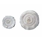"Keystone Baby Muslin Buffs, 1 1/2"" x 16 ply, Ideal for polishing small"