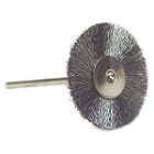 Keystone Rotary Wire Stiff Steel Brushes, Mounted on HP-sized Mandrels Designed