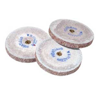 Mizzy Heatless Red Wheels #8, Alpha Aluminum Oxide, Use on all Non-Precious