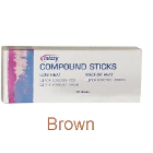 Mizzy Impression Compound Sticks, Brown-Medium Heat, Pleasantly