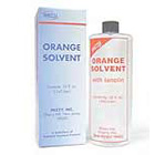 Mizzy Orange solvent with lanolin, 32 ounce bottle of solvent