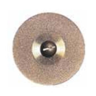 Sep Flex Fine Diamond Disc, (.006) x 22 mm dia. Single Sided, Each. Ti-Coated
