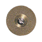 Sep Flex Coarse Diamond Disc, (.007) x 22mm dia. Double Sided, Each. Ti-Coated