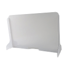 "KC Sneeze Guards 44""w x 36""h Flat Panel Sneeze Guard, No Pass Through Slot"