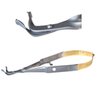 Laschal 75 degree E/W endo file forceps with thumb lock