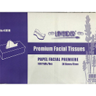 Lavender Facial Tissue, 2-Ply-Full size, 7'' x 8.5''. 100 pc/box, 30 boxes/case