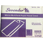 Lavender 1-Ply Multi-Fold Paper Towels 250 pc/pac