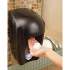 Hand Sanitizer Touch-Free Foam Dispenser. Luxurious foam is dispensed