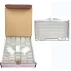 Ehros Ortho Orthodontic Wax compact 100/box - Unscented white wax with Vitamin