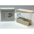 Ehros Deluxe Cotton Roll Dispenser White, Drawer Type. Easy to use and refill