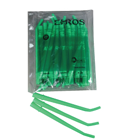 "Ehros 1/4"" Green Disposable Surgical Aspirating Tips 25/Pk"