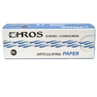 Ehros Thin Red/Blue Articulating Paper 144/Bx. Soft, Smooth, Non-Sticking. Hugh