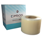"Ehros 4"" x 6"" Barrier Film CLEAR with Finger Lift Edge. Roll of 1200 Sheets"