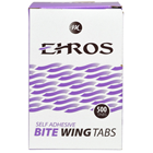 Ehros Bite Wing Tabs 500/Box. Self Adhesive