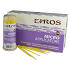 Ehros Small Micro-applicators with Fine tip - Yellow, 400/Bx. 4 tubes of 100