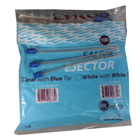 Ehros Saliva Ejectors CLEAR with BLUE Tip 100/Pk