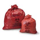 Medical Action Biohazard Red Waste Bag, to Collect, Store and Transport
