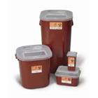 "Medical Action 16 Gallon Sharps Container, Red, 13.5"" W x 13.5"" D x 25.5"" H"
