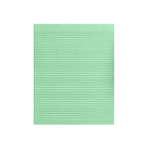 "Dry-Back Plus Medicom Green plain rectangle (13"" x 18"") 3 ply Paper/1 ply Poly"
